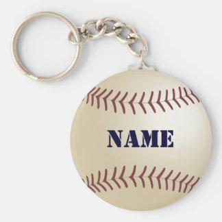 Baseball personalisiertes Keychain Schlüsselbänder