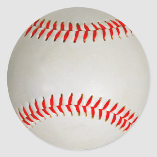 Baseball Runder Aufkleber