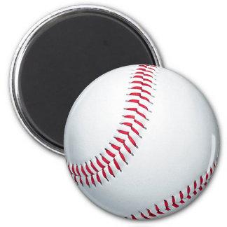Baseball Runder Magnet 5,1 Cm
