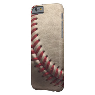 Baseball säumt schmutziges iPhone 6/6s, kaum dort Barely There iPhone 6 Hülle