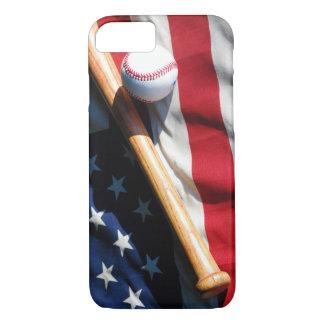 Baseball, Schläger und kennzeichnen kaum dort iPhone 8/7 Hülle