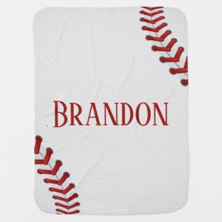 Baseball schnürt sich Basis-Ball-roten weißen Puckdecke
