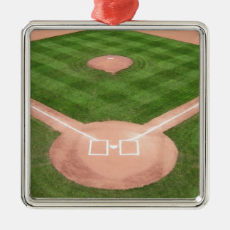Baseball Silbernes Ornament