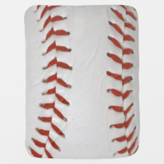 Baseball-Softball-Druck-Muster-Hintergrund Babydecke
