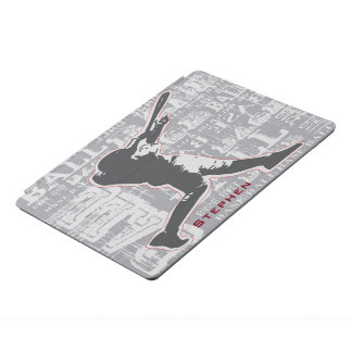 Baseball-Spieler-Entwurf iPad Abdeckung iPad Pro Cover