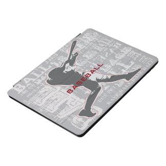 Baseball-Spieler-Entwurf iPad Profall iPad Pro Cover