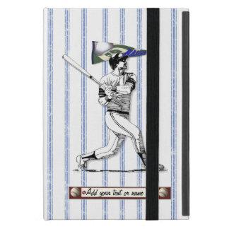 Baseball-Spieler und Wimpel iPad Mini Schutzhülle