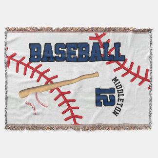 Baseball-Sport-Ball-Entwurf - Blau Decke