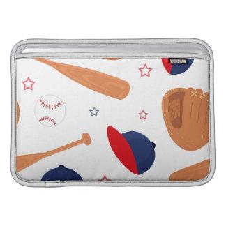 Baseball-Star-Muster MacBook Air Sleeve