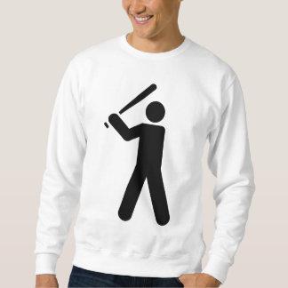 Baseball-Symbol Sweatshirt