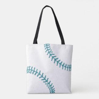 Baseball-Tasche mit blauen Faden Tasche