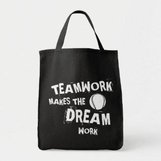 Baseball-Teamwork Tragetasche