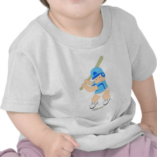 Baseball-Teig-Baby T-Shirts