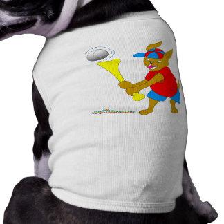 Baseball-Teig-Hund Hundebekleidung