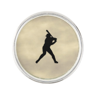 Baseball-Teig oben Anstecknadel