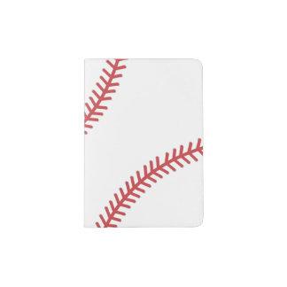 Baseball trägt Pass-Abdeckung zur Schau Passhülle
