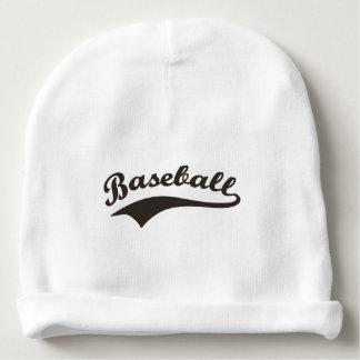 Baseball-Typografie Babymütze