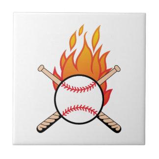 Baseball u. Schläger Keramikfliese