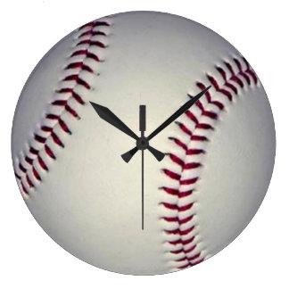 Baseball-Wanduhr Große Wanduhr