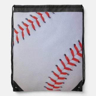 Baseball zeichnen Schnurtasche Turnbeutel