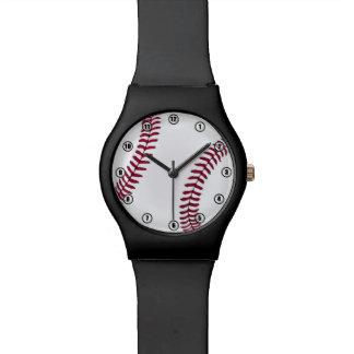 Baseball-Zeit-Uhr Uhr