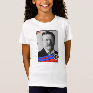 Baseballkarte Theodore Teddy Roosevelt T-Shirt