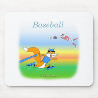 BaseballMausunterlage Mauspad