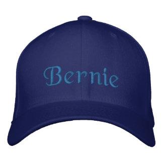 Baseballmütze-Blau Bernie personalisiertes Bestickte Kappe