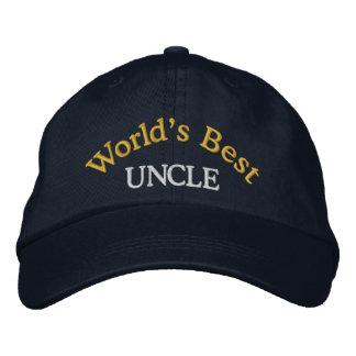 Baseballmütze der Welt beste des Onkel-Embroidered