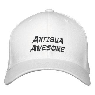 Baseballmütze mit coolem Antigua-Zitat Bestickte Baseballkappe
