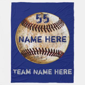 Baseballteams-Geschenk-Baseball-Wurfs-Decke Fleecedecke