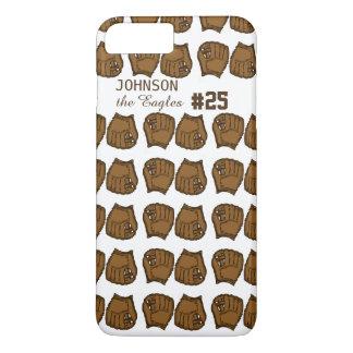 Baseballteams-Gewohnheits-Mitt iPhone 8 Plus/7 Plus Hülle