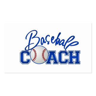 Baseballtrainer-Visitenkarten Visitenkarten
