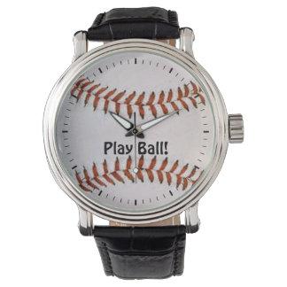 Baseballuhr Armbanduhr
