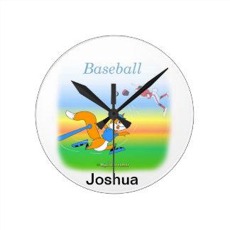 Baseballuhr Wanduhr
