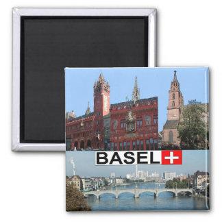Basel Kühlschrankmagnet