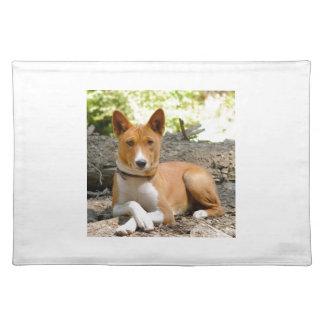 Basenji Hund Tischset