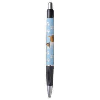 Basenji Malerei - niedliche ursprüngliche Kugelschreiber