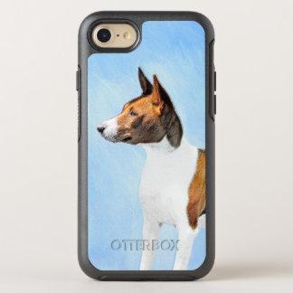 Basenji Malerei - niedliche ursprüngliche OtterBox Symmetry iPhone 8/7 Hülle