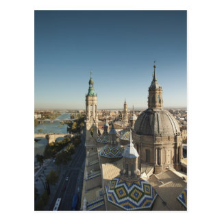 Basilica de Nuestra Senora del Pilar 2 Postkarte
