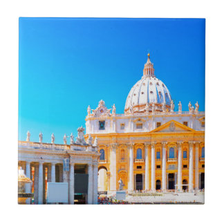 Basilika Roms, Italien - St- Peters Keramikfliese