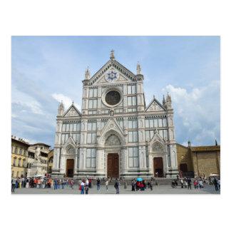 Basilika Santa Croce Postkarte