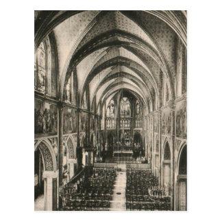Basilika von Notre Dame du Sacre-Coeur Paris Postkarte