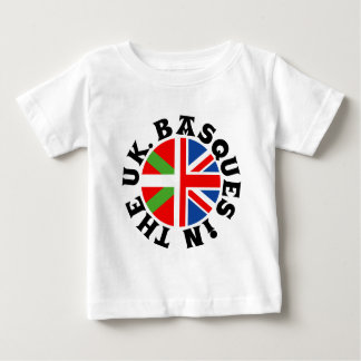 Basken in Großbritannien Baby T-shirt
