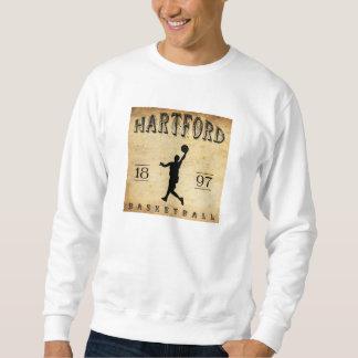 Basketball 1897 Hartfords Connecticut Sweatshirt
