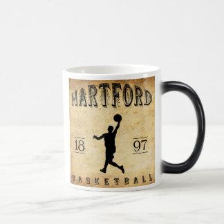 Basketball 1897 Hartfords Connecticut Verwandlungstasse
