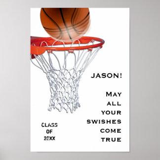 Basketball-Abschlussplakate