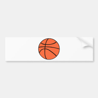 Basketball Autoaufkleber