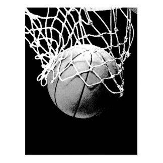 Basketball-Ball Postkarte