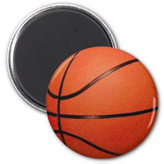 Basketball-Ball Runder Magnet 5,1 Cm
